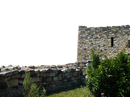 Stone wall PNG by velvet-skies-STOCK