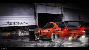 Nissan Silvia Drifter by 7RON7