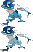 Frogadier by KrocF4