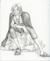 Shanks taking his Ease by Hitoritsuki