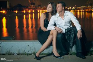 a night at the harbour - 2 by Niemans
