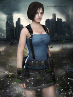 #Jill Valentine Movie - RE2 apocalypse by DemonLeon3D