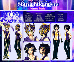 Indigo Starry Night Ranger by ArtemiSayuri