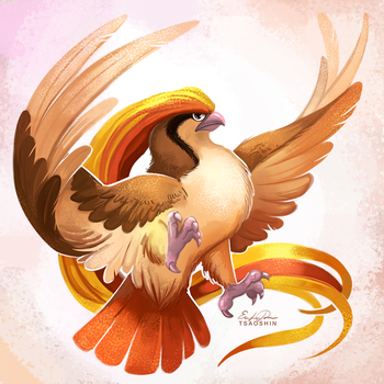 018 - Pidgeot by TsaoShin