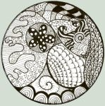 Zentangle, zendoodle, whatever by o0Luthien0o