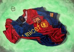 FC Barcelona t-shirt by chiel1