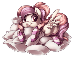 Commission: Pillow Pile by Heilos
