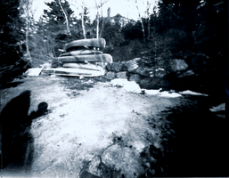 canoes - Pinhole Photography by cold-xx