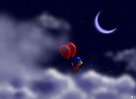 Balloon Fight: Above the Clouds by BThomas64