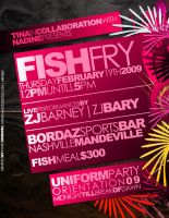 Fish Fry Flyer by kanections