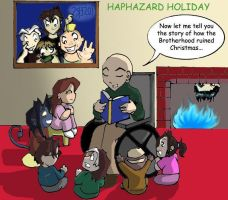 HAPHAZARD HOLIDAY CONTEST by TheBrotherhoodclub