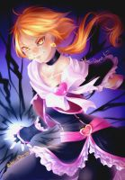 Emissary of light, Cure Black! by rika-dono
