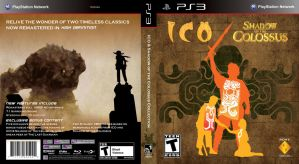 Ico and Shadow of the Colossus PS3 Cover by H1ppym4n