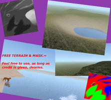Free Terrain and Mask by HinnaStar