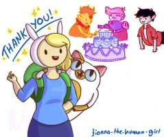 Fionna and the Boys .2 by NeonFandango