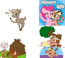 Random Pony Stuff #7: My time among the Deer. by FicFicPonyFic