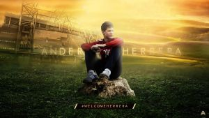 Ander Herrera (Manchester United) Wallpaper by AlbertGFX