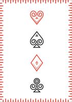 Playing cards - Front by Albiona