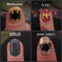 Batman Nails by Moopzilla
