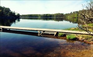 The Bridge To One Of The Arcipelago`s Islands by eskile