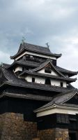 Chidori Castle, Matsue by chocosunday