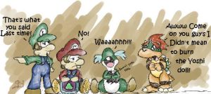 Baby Mario and Friends by PrincessYoshi