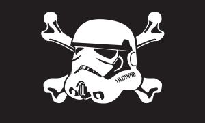 Storm Trooper Jolly Roger by MercenaryGraphics