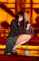 gogo yubari color by funeralwind