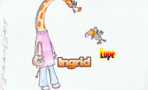 Trade for OldCat8: Ingrid and Lupe by citynetter
