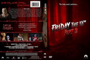 Friday the 13th Pt. 2 Custom DVD Cover by SUPERMAN3D