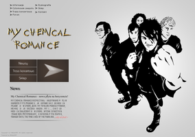 My Chemical Romance Layout by G0ldenART