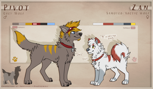 Piv+Zan refs 2014 by Amathaze