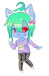::AT:: Blood Tea - cute pastel goth by TheWhiteWolf09