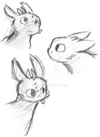 Toothless Sketches 2 by Celebi9