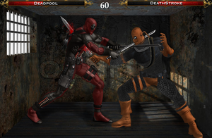 Deadpool vs Deathstroke by Tony-Antwonio