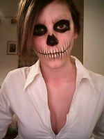 Skeleton face 2. by antaale