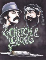 Cheech and Chong by LabrenzInk