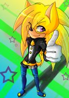 :RQ:Nitro The Hedgehog:: by VioletRaven106