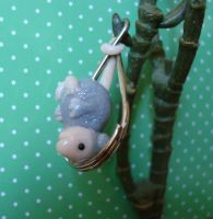 Awesome Possum keychain by Leemeeri