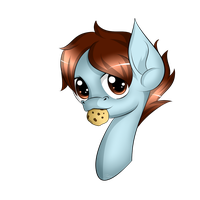 Request: Cookie Shy by Topas-Art