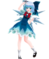 |DL SERIES| Cirno (61/?) by typhlosion4ever