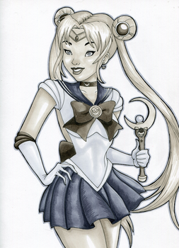 Sailor Moon by Indy-Lytle