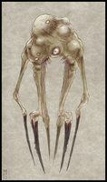 'Stigma' Concept Art - Monstrosity by Zaeta-K