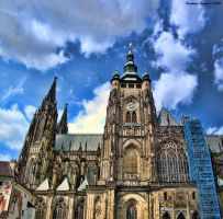 St. Vitus Cathedral Prague by BonoArt