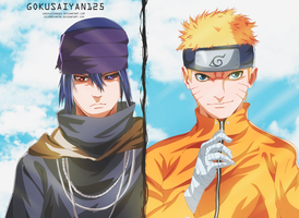 Naruto And Sasuke The Last The Movie by SenniN-GL-54