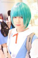 Rei Ayanami: Poker face by falling-ishtar