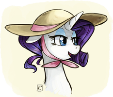 Summer Sun Hat by Radioactive-K