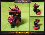 Ricky Dragon by LuisMonterieArt