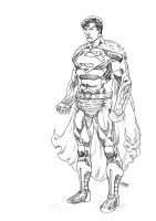 Flying Caped Crusader by Ryondthom