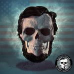 Lincoln Skullified by fantasio